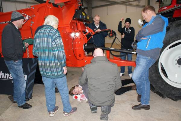 Farm Focused First Aid Demonstration and Courses