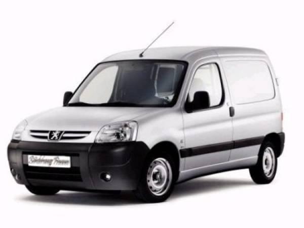 Silver commercial van