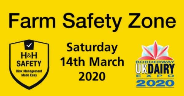 Farm Safety Zone at UK Dairy Expo 2020