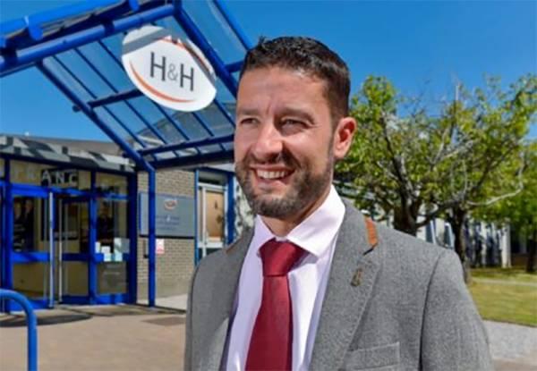 Richard Rankin, Chief Executive outside H&H in Carlisle