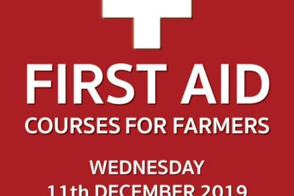 First AID Courses for Farmers Advert